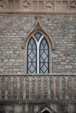 Fenêtre gothique Images libres de droits