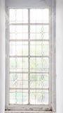 Fenêtre Leaved Photographie stock libre de droits