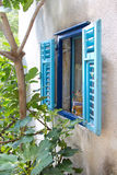 Fenêtre méditerranéenne Photos libres de droits