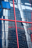 Fenêtre ouverte d'un hôtel à Madrid Photographie stock libre de droits