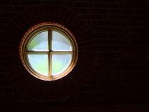 Fenêtre ronde  Photographie stock libre de droits
