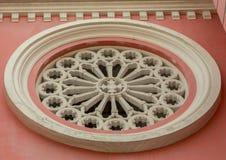 Fenêtre ronde classique Photos libres de droits