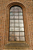 fenêtre rose Italie Lombardie le vieux Ti d'église de turbigo image stock