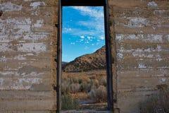 Fenêtre sur Baxter Pass image libre de droits