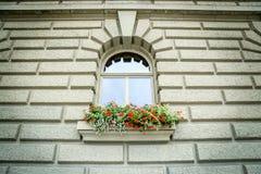 Fenêtre sur le Bundeshaus photo stock