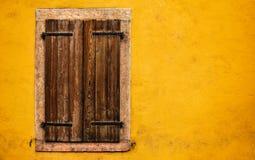 Fenêtre, Trento Italie Photos stock