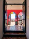 Fenêtres arabes colorées de style Photographie stock