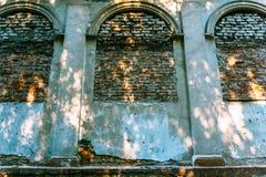 Fenêtres arrondies scellées Images stock