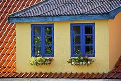 Fenêtres bleues Photos libres de droits