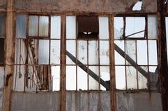 Fenêtres cassées Image libre de droits