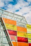 Fenêtres colorées lumineuses Images libres de droits