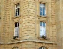 Fenêtres d'appartement Image stock
