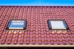 Fenêtres de toit photographie stock