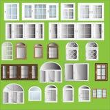 Fenêtres de vecteur Image libre de droits
