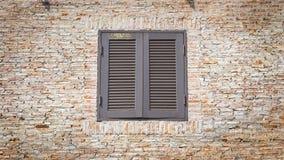 Fenêtres de vintage Photo libre de droits