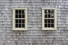 Fenêtres jumelles images libres de droits