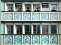 Fenêtres uniques antiques images libres de droits