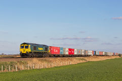 Fen land Freightliner Stock Images