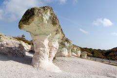 Fenômeno Kamennite Gabi da natureza, Bulgária Fotos de Stock