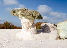 Fenômeno Kamennite Gabi da natureza, Bulgária Imagem de Stock