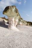 Fenômeno Kamennite Gabi da natureza, Bulgária Imagens de Stock Royalty Free