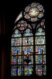 Fen?tre de Notre Dame photographie stock libre de droits