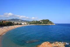 Fenals beach (Costa Brava, Spain) Royalty Free Stock Image