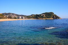 Fenals beach (Costa Brava, Spain) Stock Image