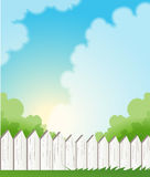 Fence royalty free illustration