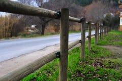 Fence_106 de madeira Fotos de Stock