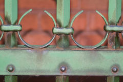 Fence. Close-up Stock Image