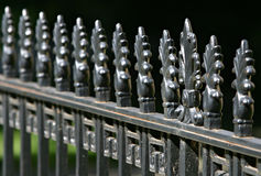 Fence. Victorian iron fence in Princeton, New Jersey, USA Stock Photo