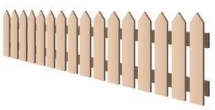 Fence stock illustration