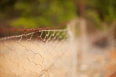 Fence Abstract Royalty Free Stock Photography