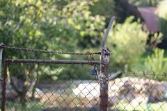 Fence. Abstract background with wire fence royalty free stock images