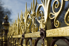 Fence by Albert Memorial Royalty Free Stock Photo