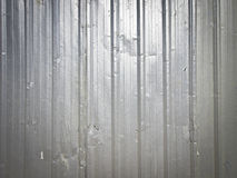 Fence background. Background image of distorted galvanized fence of construction site with vignett conner royalty free stock photo