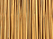 Fence from a bamboo. A background, the invoice. Horizontal structure for a background Royalty Free Stock Images