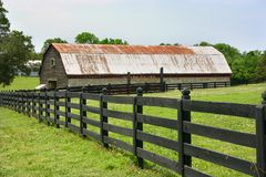 Fence & Barn Stock Images