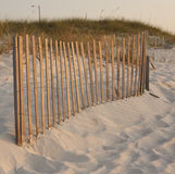 Fence at the beach Royalty Free Stock Photos
