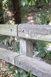 Fence with blurred background Stock Photo