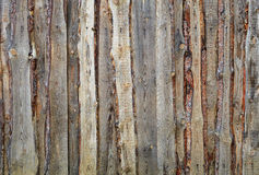 Fence of boards and slabs background Stock Photography