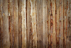 Fence of boards and slabs background Stock Photo