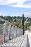 Fence on Bridge Stock Photo