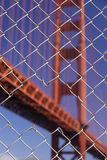 Fence Bridge View Royalty Free Stock Photography