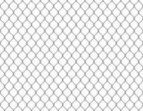 Fence chain seamless. Metallic wire link mesh seamless pattern prison barrier secured property barbed wall steels. Fence chain seamless. Metallic wire link mesh stock illustration