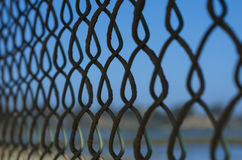 Fence. Close up detail of a fence Royalty Free Stock Photography