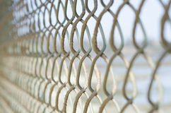 Fence. Close up detail of a fence Stock Photography