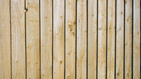 Fence. Close up of a new wooden fence Stock Photos