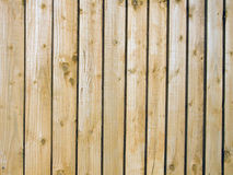 Fence. Close up of a new wooden fence Royalty Free Stock Photos
